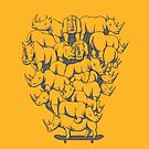 Melbourne Rhinos by Joey Klarenbeek