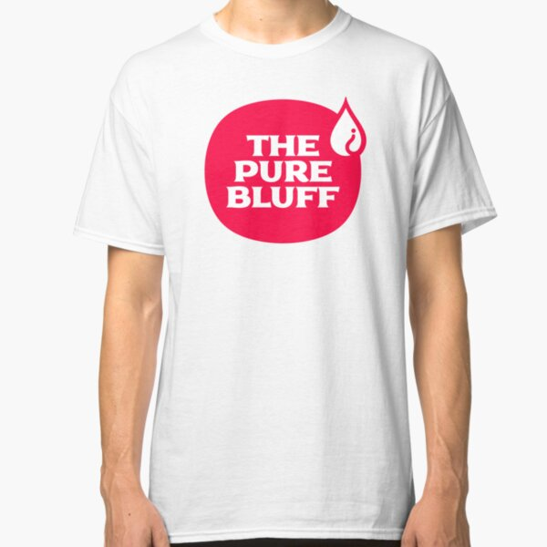 The Pure Bluff Logo (Red) — APPAREL Classic T-Shirt