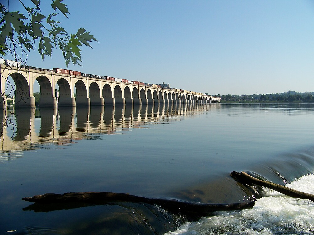 Bridge over the Susquehanna by mstinak