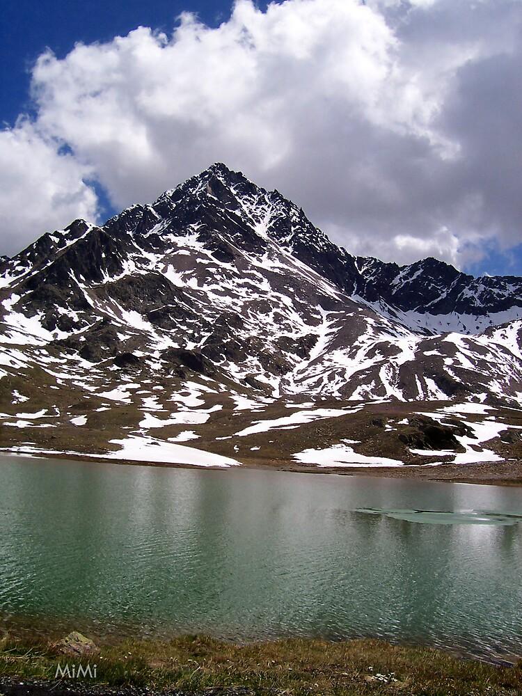 Mountain's Lake II by Miriam Casarini