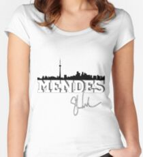 Mendes toronto Women's Fitted Scoop T-Shirt