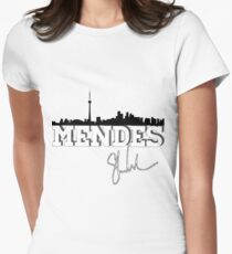 Mendes toronto Women's Fitted T-Shirt