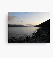 Sunset over Loch Ness Canvas Print