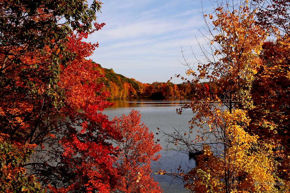 Fall in the Hudson Valley by Jim Sugrue