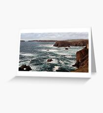 Mangersta Coastline Greeting Card