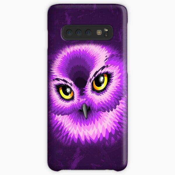 Pink Owl Eyes Samsung Galaxy Snap Case