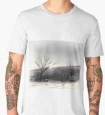 Snow Scene Men's Premium T-Shirt