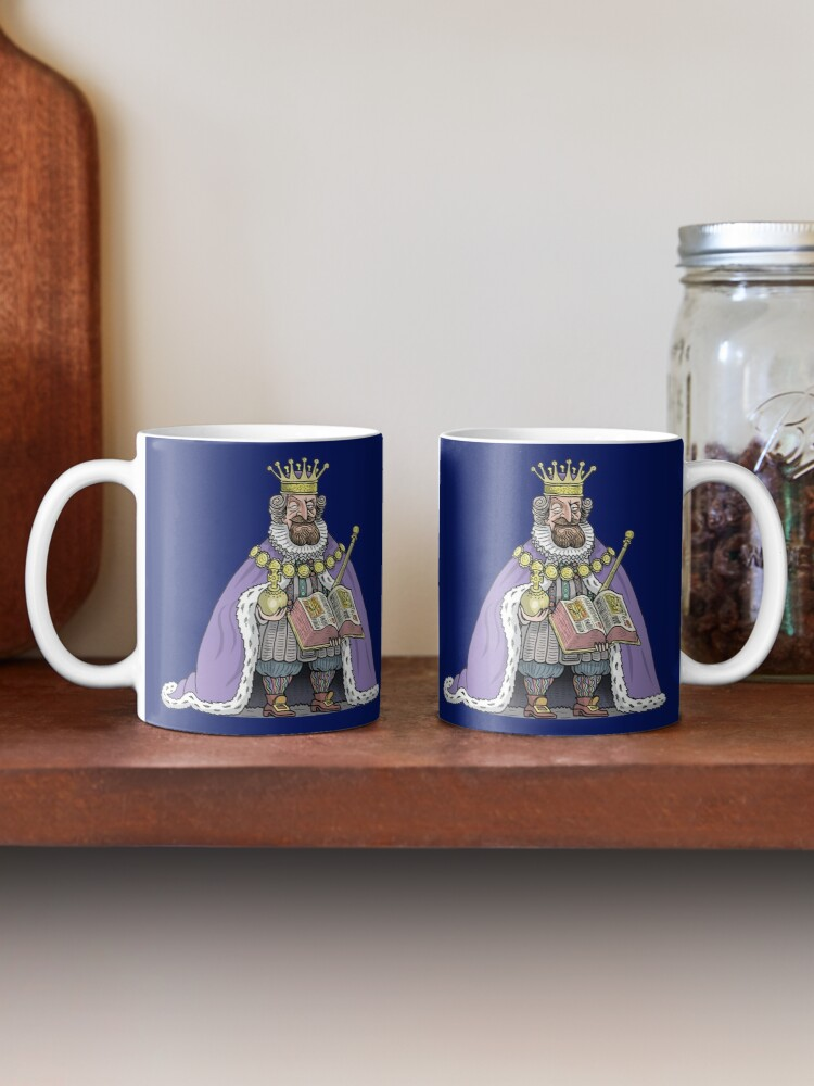 Alternate view of King James I of England Mug