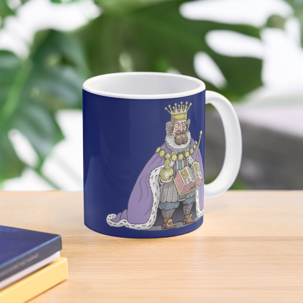 King James I of England Mug