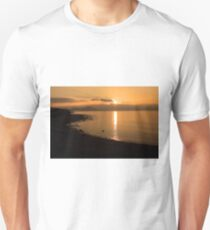 Sunset At Cune Beach T-Shirt