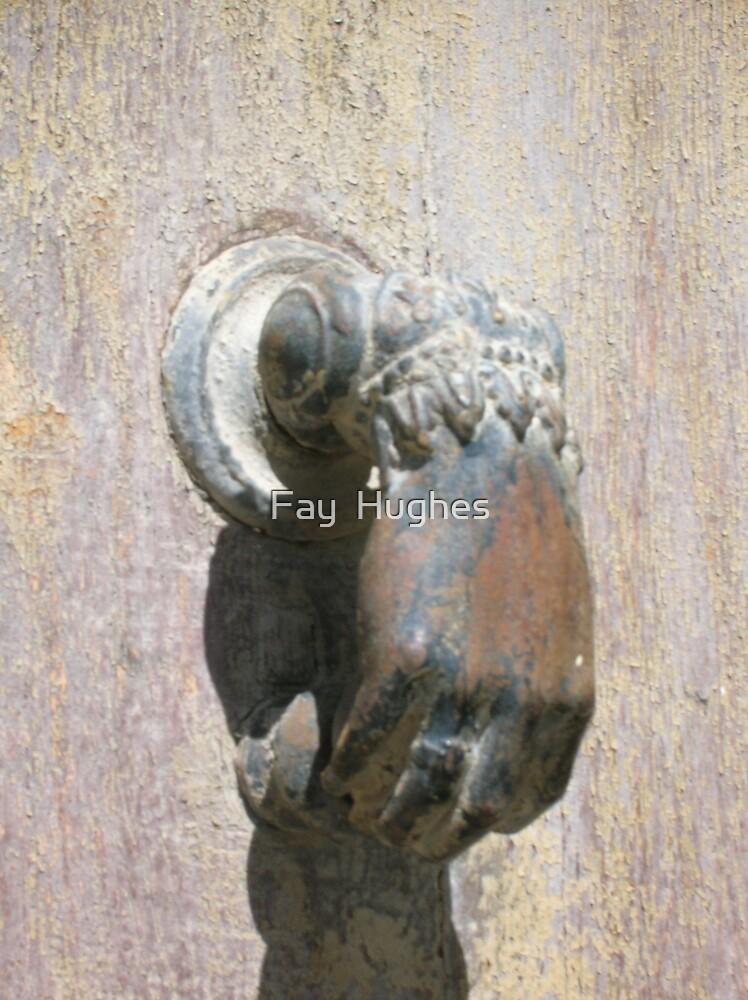 Door knocker by Fay  Hughes