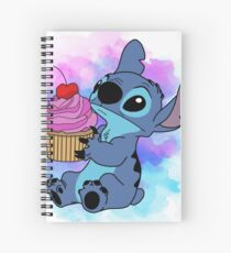 Stitch Cupcake Spiral Notebook