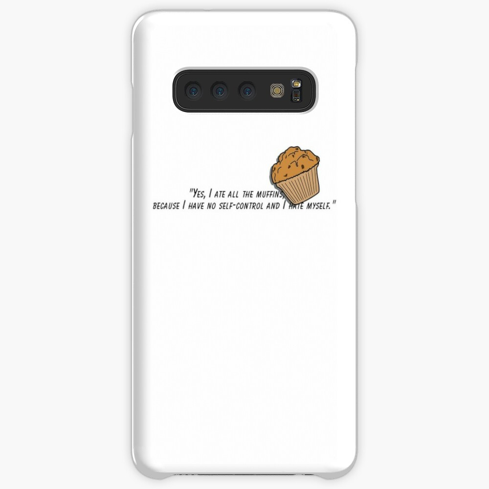 Bojack horseman muffin quote fan art Case & Skin for Samsung Galaxy