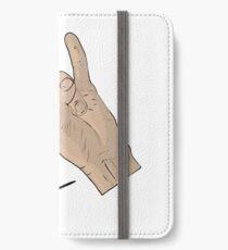 Signature hand iPhone Wallet/Case/Skin