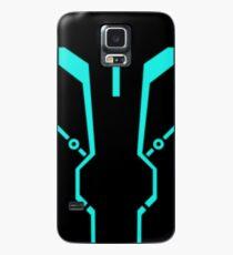 Blue Tronic Case/Skin for Samsung Galaxy