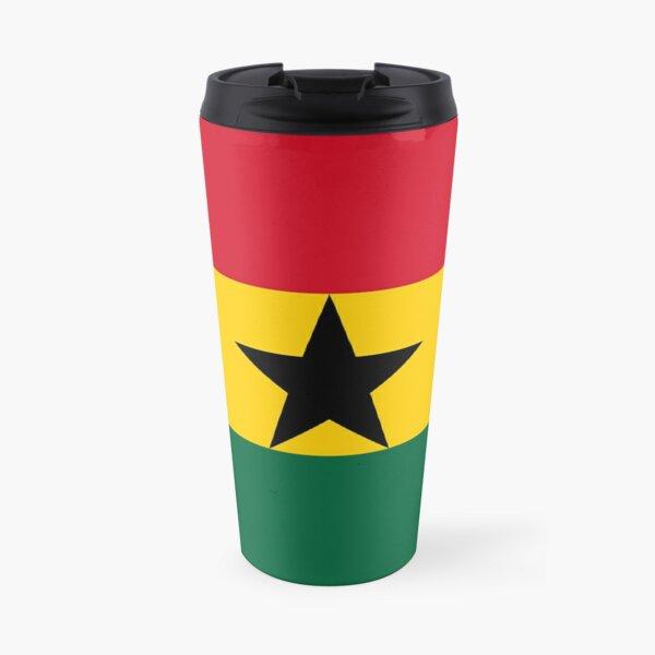 Flag of Ghana Travel Mug