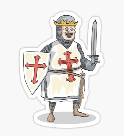 Crusader Sticker