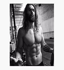 Jason Momoa Shirtless Photographic Print