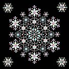Mandala Snowflake by PatriciaSheaArt