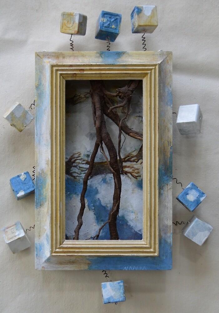 Root - Outsider Art by Nancy Mauerman