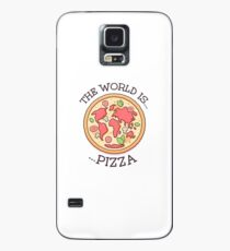 The World Is Pizza Case/Skin for Samsung Galaxy