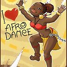 African dances by Anna R. Carrino