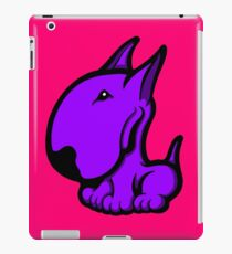 Odie English Bull Terrier Purple  iPad Case/Skin