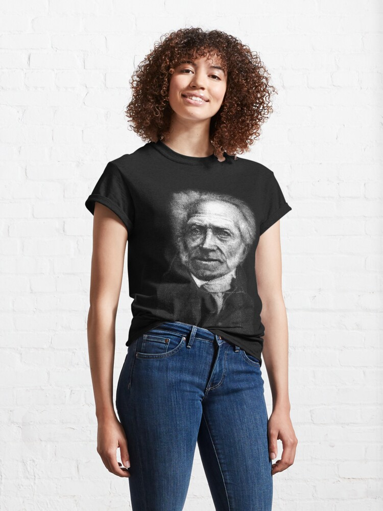 Alternate view of Arthur Schopenhauer Classic T-Shirt