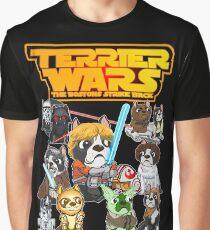 Boston Terrier Wars Graphic T-Shirt