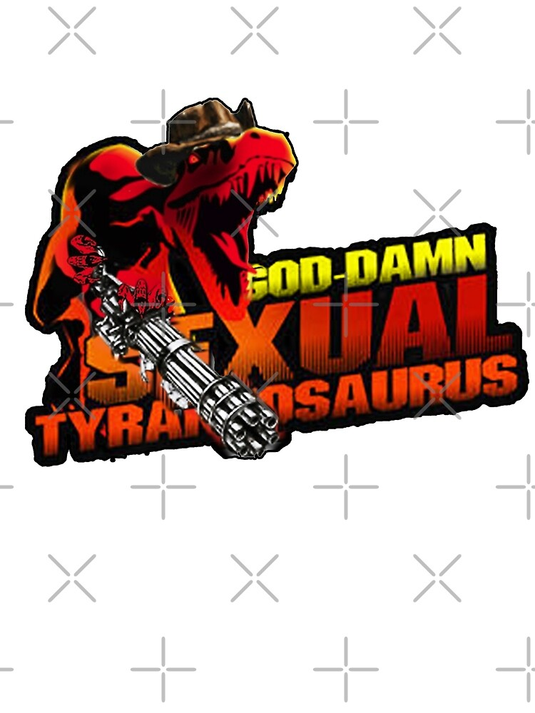 sexual tyrannosaurus  by JTK667