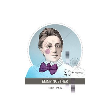 Emmy Noether by puratura