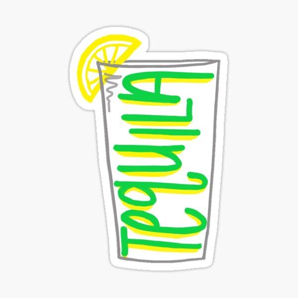 Tequila Shot Sticker