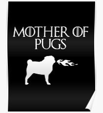 Mother of Pugs Poster