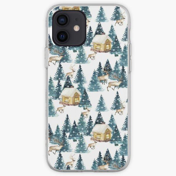 Winter village iPhone Soft Case