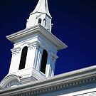 Clinton Steeples by Mary Campbell