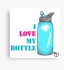 I love my bottle Canvas Print