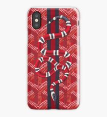 Red Snake iPhone Case/Skin