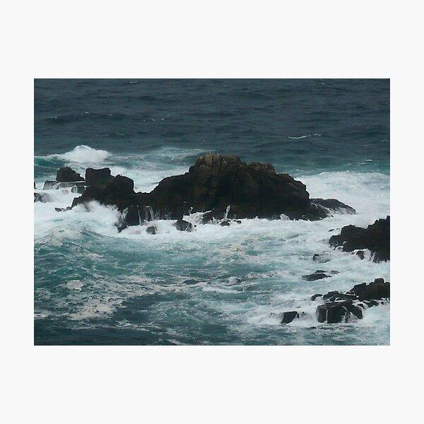 Rocks off Lands End Photographic Print