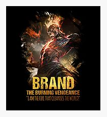 League of Legends BRAND - The Burning Vengeance Photographic Print