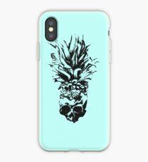 Skull Pineapple Grunge Case iPhone Case