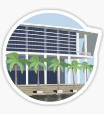 Shalala Student Center Sticker