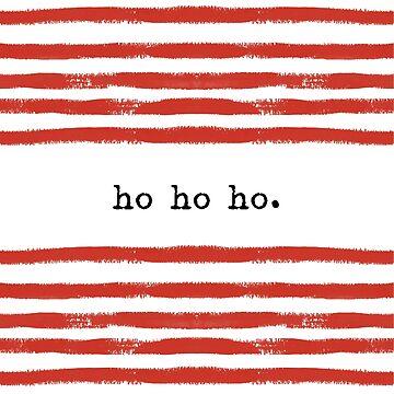 red stripe-ho ho ho by SylviaCook