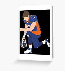The Tebow Greeting Card