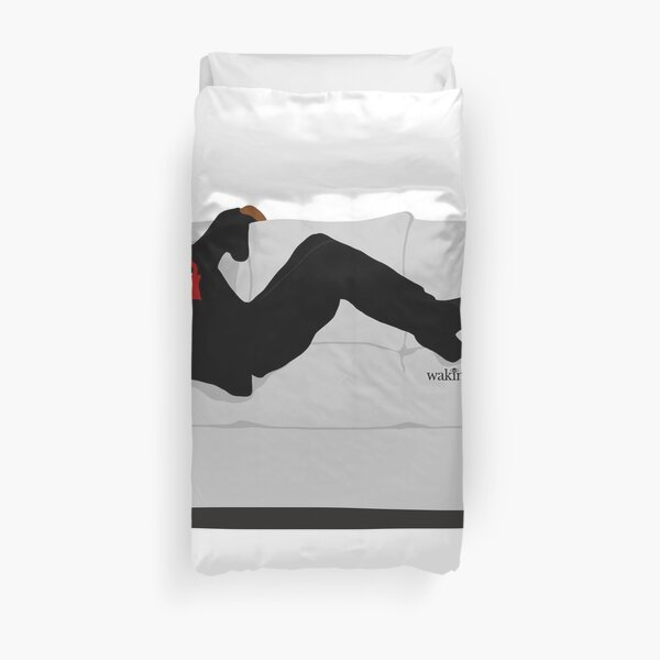 F Yo Couch! Duvet Cover