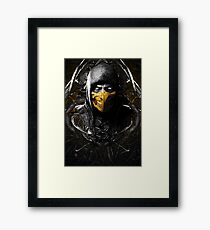 Mortal Kombat X Scorpion Framed Print