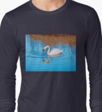 Mute Swan reflection Long Sleeve T-Shirt