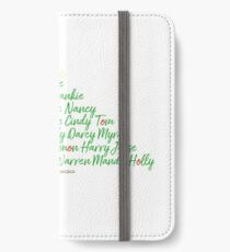 Hollyoaks Characters Christmas Tree iPhone Wallet/Case/Skin