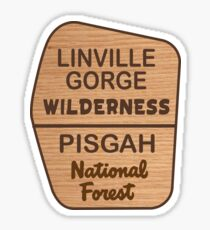 Linville Gorge Wilderness, Pisgah National Forest Sticker