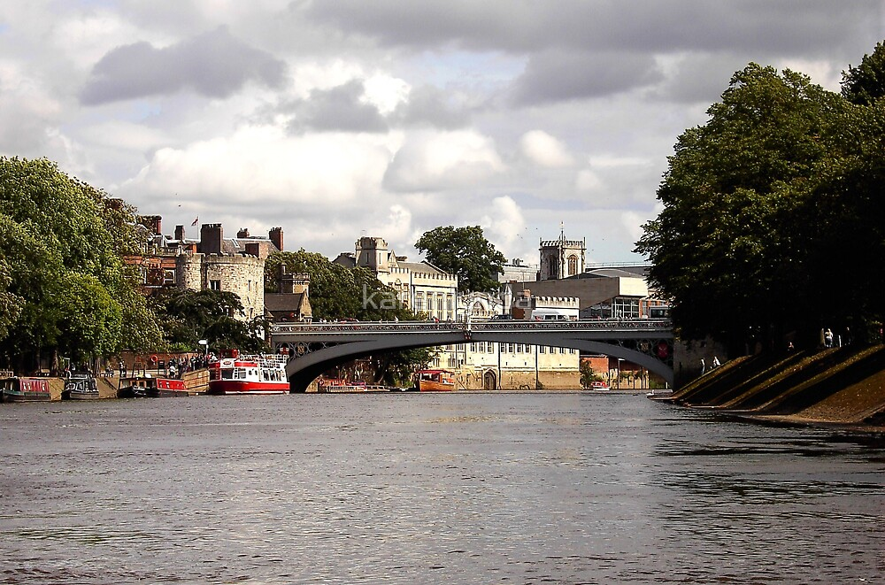 York from the Ouse by karenlynda