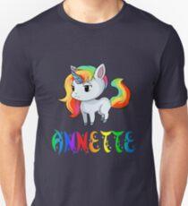Annette Unicorn Unisex T-Shirt